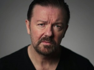 Actor and Comedian, Ricky Gervais