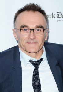 Danny Boyle attends the New York film premiere of Steve Jobs held at the Lincoln Center, NYC on October 3, 2015.