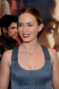 Emily Blunt attends the New York film premiere of Sicario held at the Museum of Modern Art, NYC on September 14, 2015.