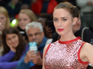 Emily Blunt attends the U.K. film premiere of Sicario held at Empire Cinema, Leicester Square, London on September 21, 2015.
