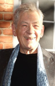 Ian McKellen at the U.K. film premiere of Mr. Holmes held at Odeon, Kensington, London on June 10, 2015.
