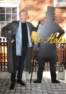 Sir Ian McKellen at the U.K. film premiere of Mr. Holmes held at Odeon, Kensington, London on June 10, 2015.