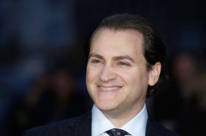 Michael Stuhlbarg attends the U.K. film premiere of Steve Jobs held at Empire Cinema, Leicester Square, London on October 18, 2015.