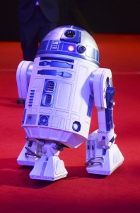 R2-D2 at the UK film premiere of Star Wars: The Force Awakens held at Odeon and Empire Cinemas, Leicester Square London. (December 14, 2015)