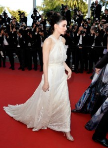 Rooney Mara attends the French film premiere of Carol during 68th Annual Cannes Film Festival on May 17, 2015.