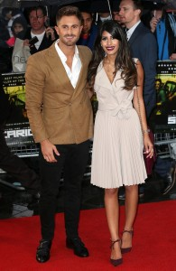 Ross Worswick and Jasmin Walia attend the U.K. film premiere of Sicario held at Empire Cinema, Leicester Square, London on September 21, 2015.