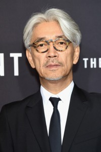 Ryuichi Sakamato attends The Revenant Premiere in New York held at AMC Leows Lincoln Square on January 6, 2016.