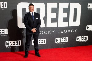 Sylveser Stallone attends the UK film premiere of Creed held at Empire Cinema, Leicester Square on January 12, 2016.