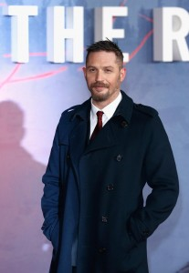Tom Hardy attends the UK premiere of The Revenant held at Empire Cinemas, Leicester Square, London on January 14, 2016.