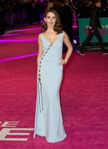 Alison Brie attends How to Be Single - European premiere in London at Vue West End, Leicester Square.