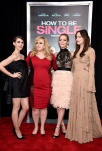 The stars of How to Be Single at the New York premiere