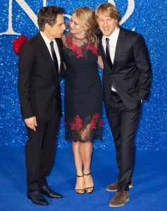 Ben Stiller, Christine Taylor & Owen Wilson attend the European premiere of Zoolander No. 2 held at Empire Cinema, Leicester Square, London on February 4, 2016.