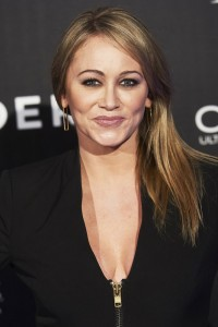 Christine Taylor attends the Spain premiere of Zoolander No. 2 held at Capitol Cinema, Madrid on February 1, 2016.