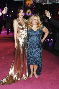 Dakota Johnson & Rebel Wilson attend How to Be Single - European premiere in London at Vue West End, Leicester Square.