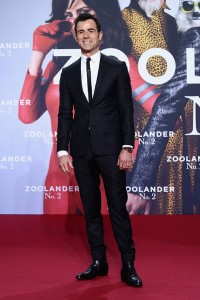 Justin Theroux attends the Berlin premiere of Zoolander No. 2 held at Cinestar Cinema, Germany on February 2, 2016.