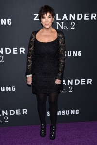 Kris Jenner attends the Zoolander No.2 premiere in New York City.