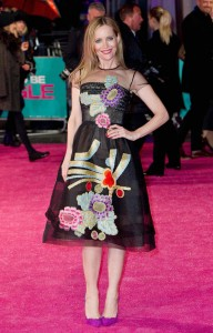 Leslie Mann attends How to Be Single - European premiere in London at Vue West End, Leicester Square.