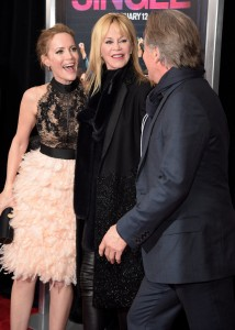 Leslie Mann, Melanie Griffith and Don Johnson pictured at the How To Be Single Premiere in New York held at NYU Skirball Center, NYC on February 3, 2016.