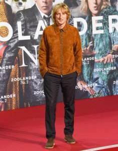 Owen Wilson attends the Berlin premiere of Zoolander No. 2 held at Cinestar Cinema, Germany on February 2, 2016.