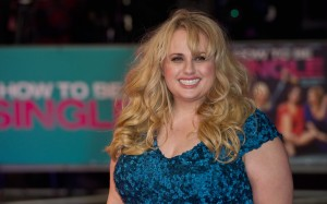 Rebel Wilson attends How to Be Single - European premiere in London at Vue West End, Leicester Square.