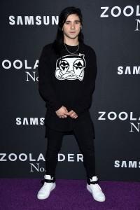 Skrillex attends Zoolander No.2 premiere in New York City.