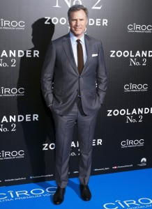 Will Ferrell attends the Spain premiere of Zoolander No. 2 held at Capitol Cinema, Madrid on February 1, 2016.