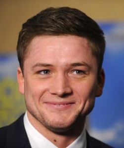 Taron Egerton attends a screening for Eddie the Eagle in New York City on February 2, 2016.