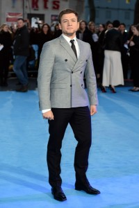 Taron Egerton at the European film premiere of Eddie the Eagle held at Odeon, Leicester Square, London on March 17, 2016.