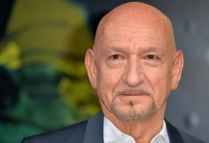 Ben Kingsley at the European premiere of The Jungle Book held at BFI IMAX, Southbank, Waterloo, London on April 13, 2016.
