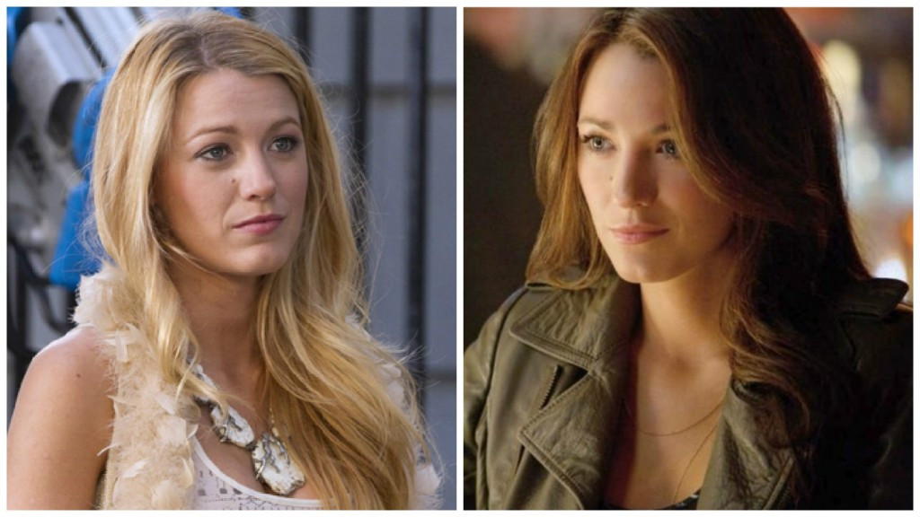 Blake Lively in Gossip Girl and Green Lantern