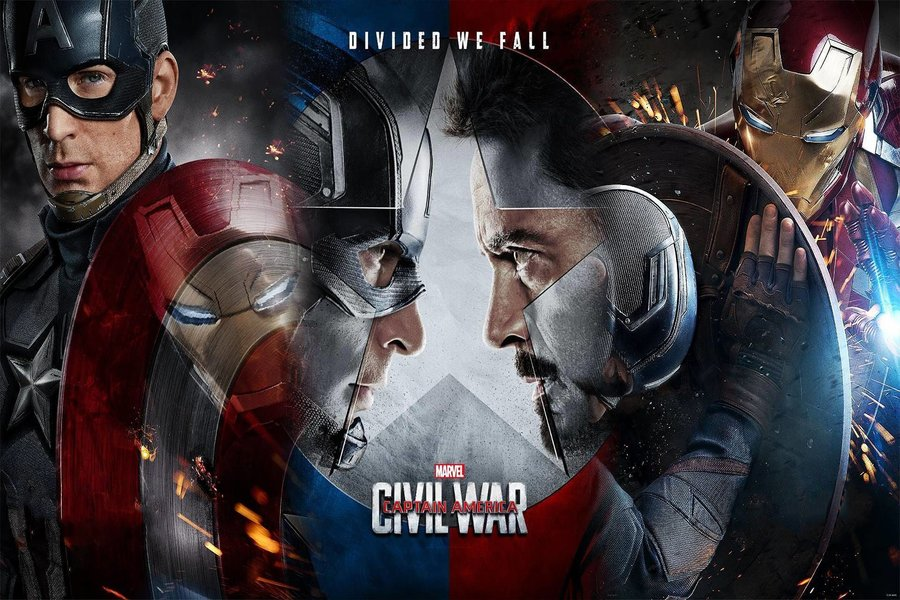 Captain America: Civil War Official Movie Poster
