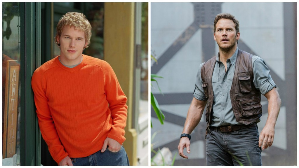 Chris Pratt in Everwood and Jurassic World