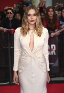 Elizabeth Olsen at Marvel's Captain America: Civil War European Premiere held at Westfield, London, Shepherds Bush on April 26, 2016.
