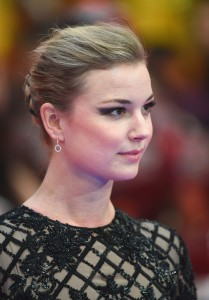 Emily VanCamp at Marvel's Captain America: Civil War European Premiere held at Westfield, London, Shepherds Bush on April 26, 2016.