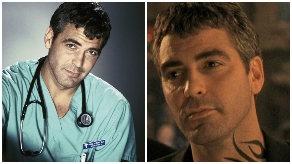 George Clooney in ER and From Dusk til Dawn