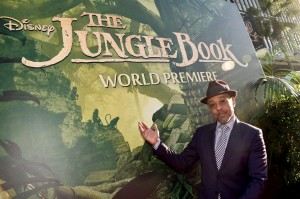 Giancarlo Esposito at the world premiere of The Jungle Book held at El Capitan Theatre, Hollywood Blvd, Los Angeles, California on April 4, 2016.