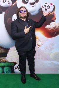 Jack Black at the Kung Fu Panda 3 Sydney Premiere