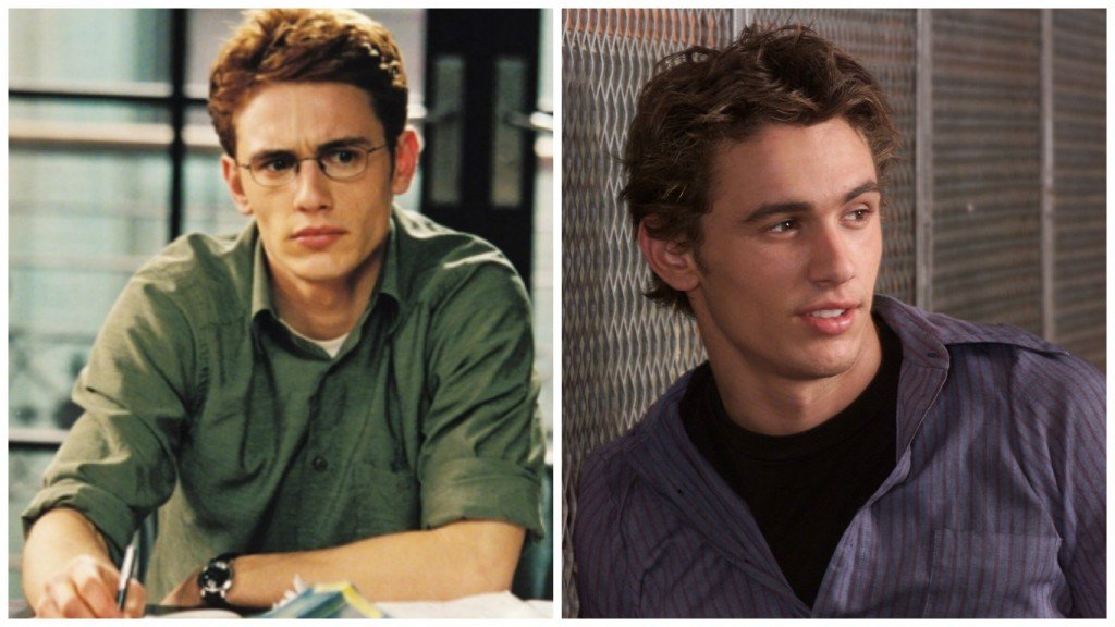 James Franco in Freaks and Geeks and Spider Man