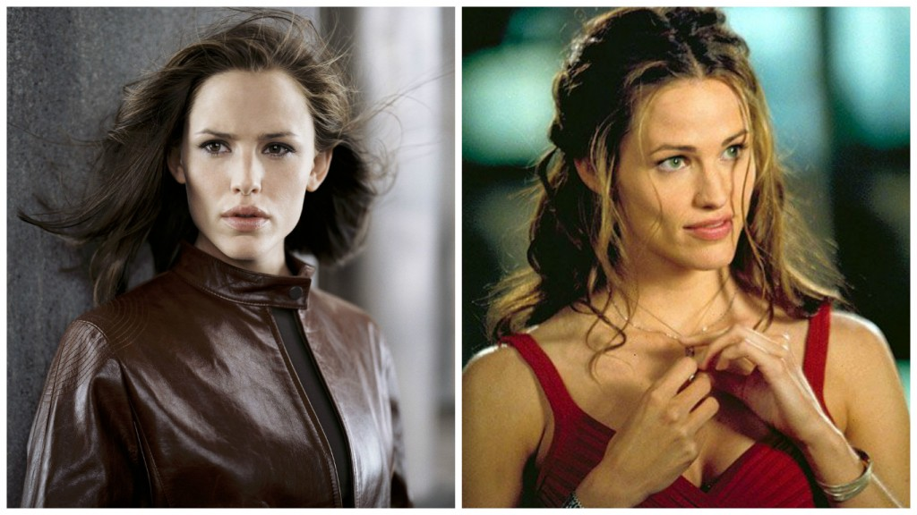 Jennifer Garner in Alias and Daredevil