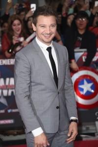 Jeremy Renner at Marvel's Captain America: Civil War European Premiere held at Westfield, London, Shepherds Bush on April 26, 2016.