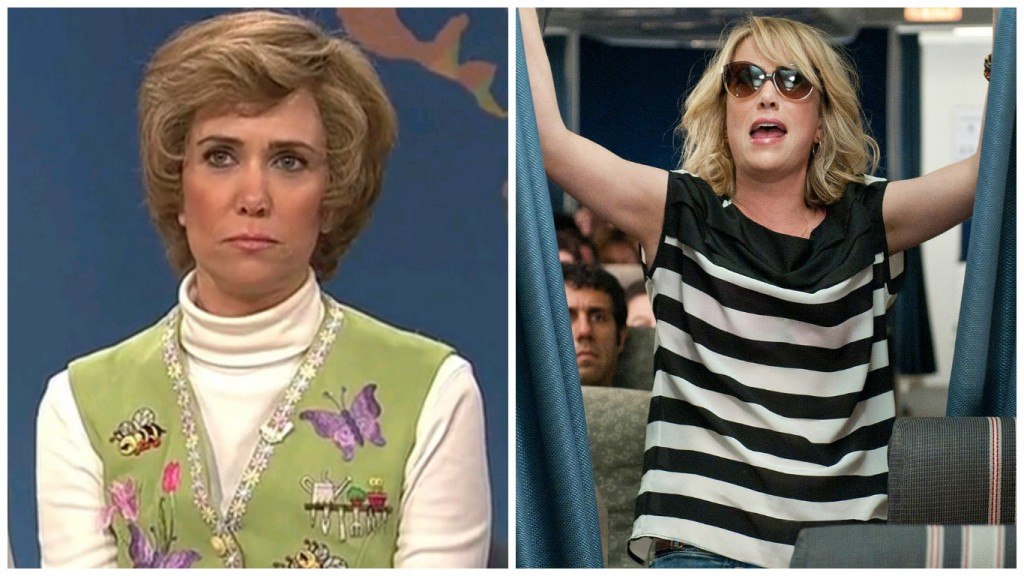 Kristen Wiig in Saturday Night Live and Bridesmaids
