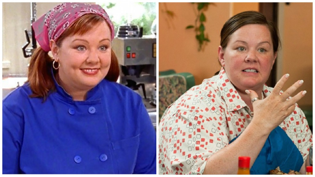Melissa McCarthy in Gilmore Girls and Bridesmaids