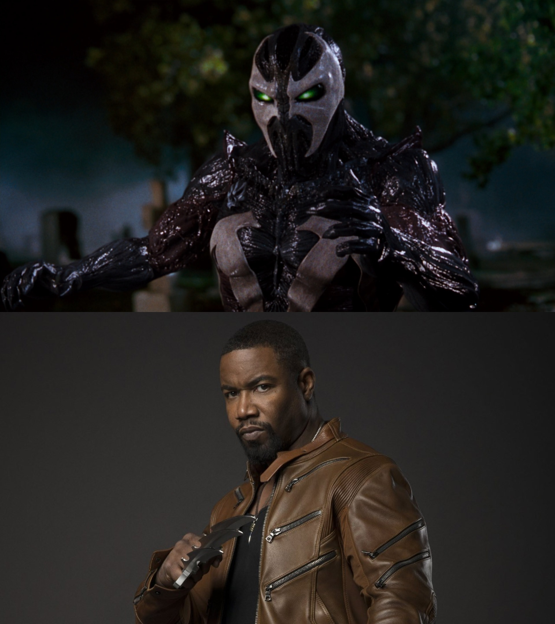 Michael Jai White as Spawn and Bronze Tiger - Actors who have played more than one superhero