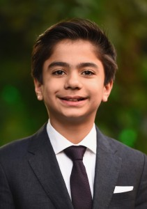 Neel Sethi at the European premiere of The Jungle Book held at BFI IMAX, Southbank, Waterloo, London on April 13, 2016.