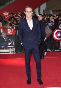 Paul Bettany at Marvel's Captain America: Civil War European Premiere held at Westfield, London, Shepherds Bush on April 26, 2016.
