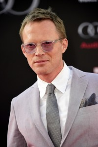 Paul Bettany at the world premiere of Captain America: Civil War held at the Dolby Theatre, Hollywood Blvd, CA on April 12, 2016.