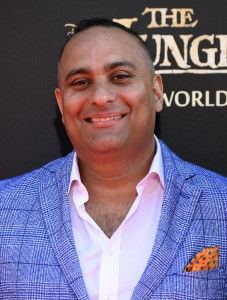 Russell Peters at the world premiere of The Jungle Book held at El Capitan Theatre, Hollywood Blvd, Los Angeles, California on April 4, 2016.