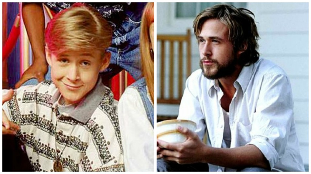 Ryan Gosling in Mickey Mouse Club and The Notebook