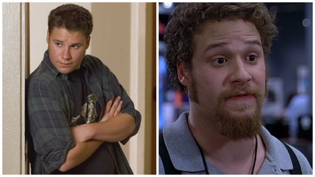 Seth Rogen in Freaks and Geeks and The 40 Year Old Virgin