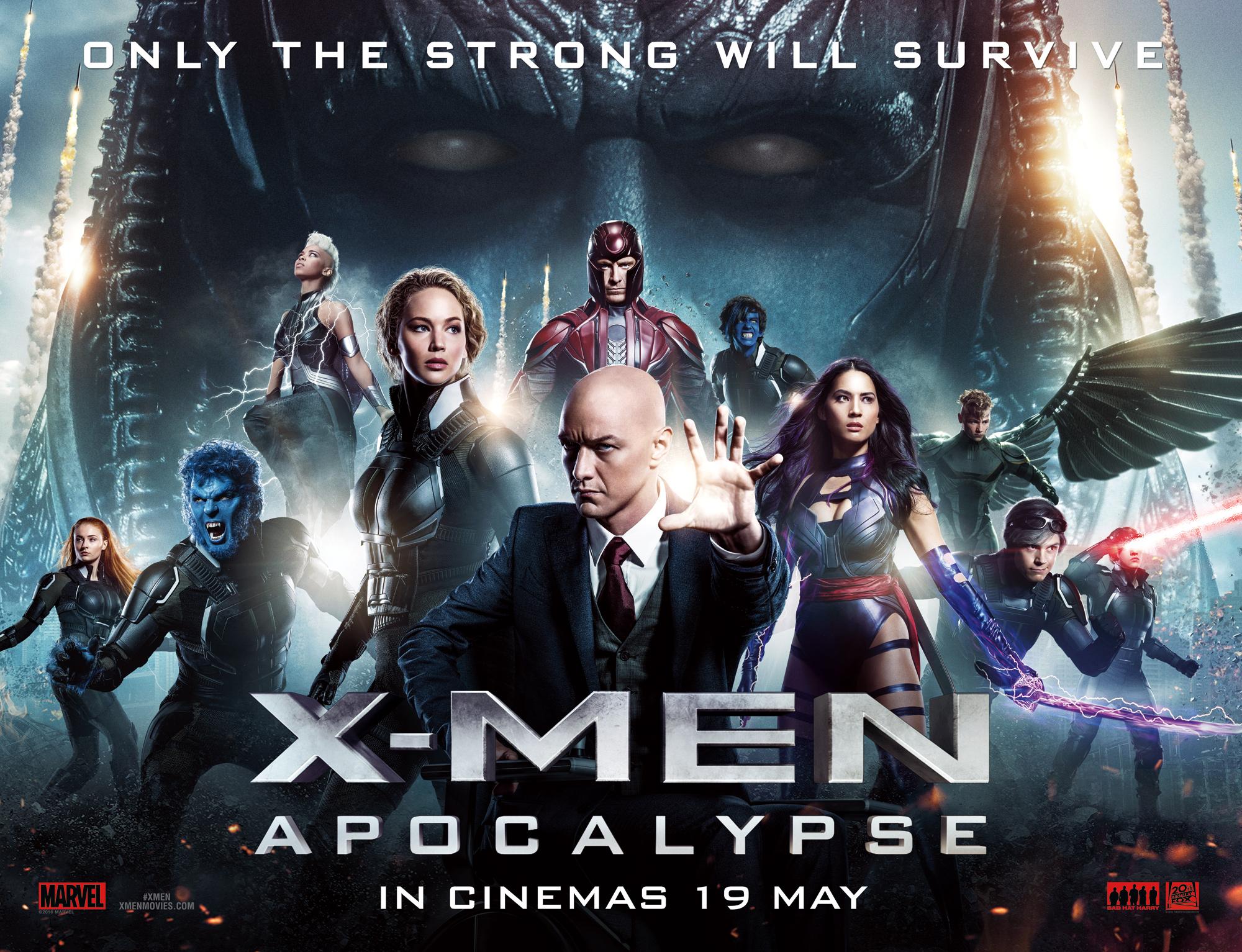 X-Men: Apocalypse Official Movie Poster